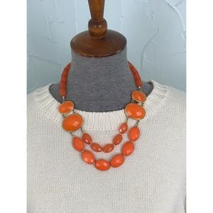 Beautiful Double Strand Statement Necklace